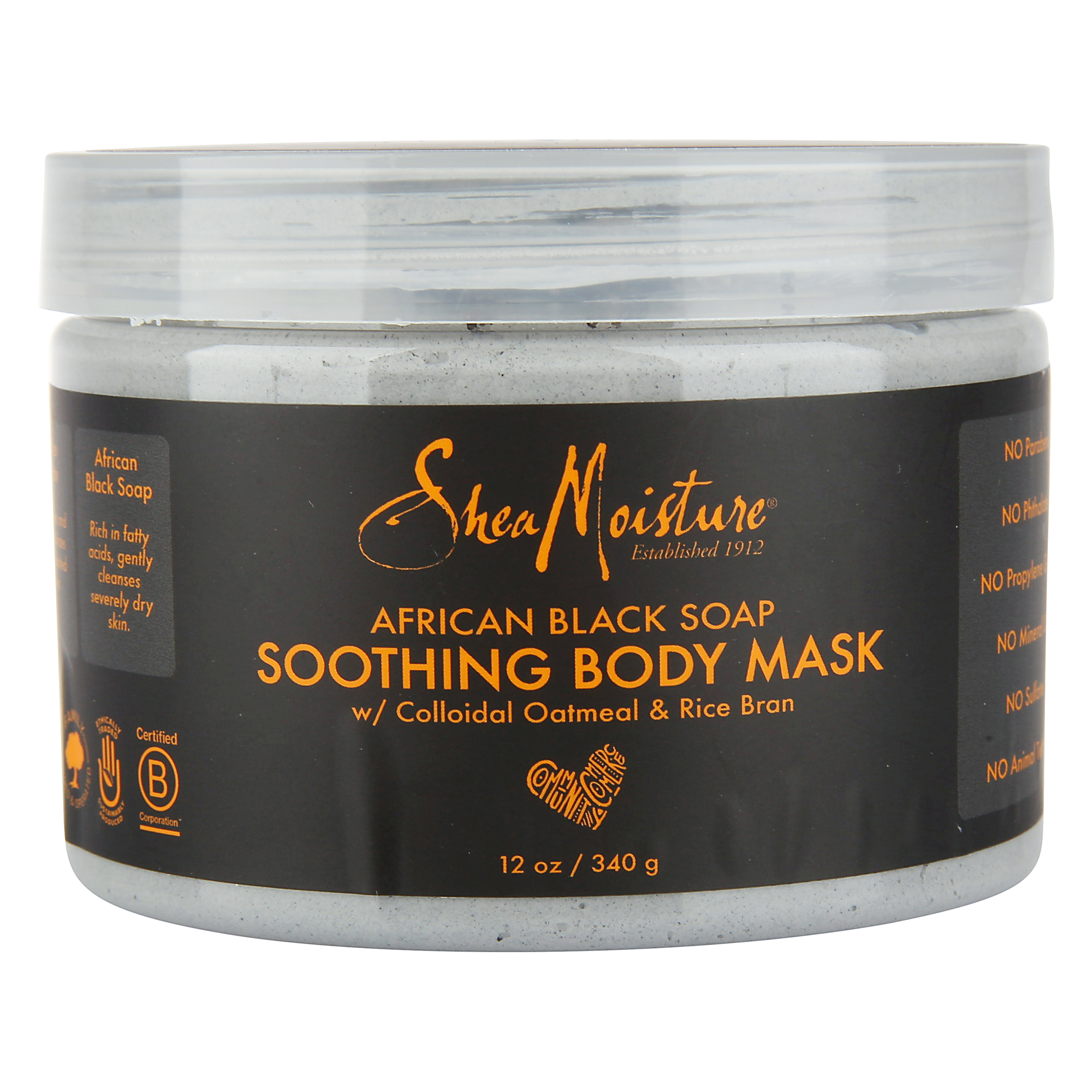 Shea Moisture African Black Soap Soothing Body Mask