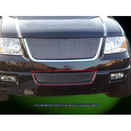 Fedar Lower Bumper Billet Grille For 2003-2006 Ford Expedition (Vertical)