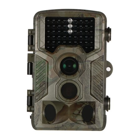 Infrared Digital Game (16MP 1080P Wildlife Trail and Game Camera Outdoor Hunting Scouting Camera Digital Surveillance Camera 120° Wide Angle 65ft Infrared Night Vision 0.6s Trigger Time)