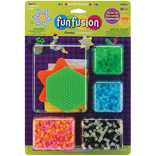 Perler 559-57 Perler Fun Fusion Fuse Bead Activity Kit