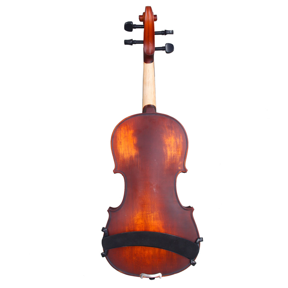 Zimtown Glarry 3/4 Solid Wood Violin with Box, Bow, Rosin, Shoulder Rests, Electronic Tuner and Extra Strings, Dark Goldenrod - image 1 de 6