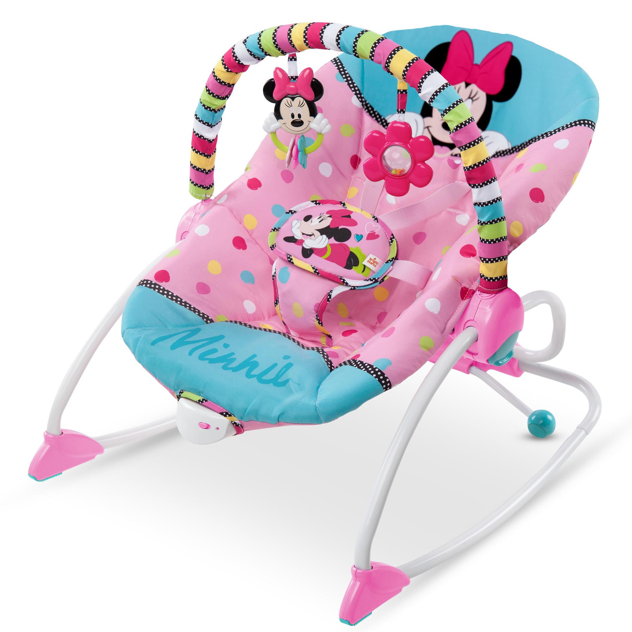 Attirant Disney Baby Minnie Mouse Peekaboo Infant To Toddler Rocker   Walmart.com