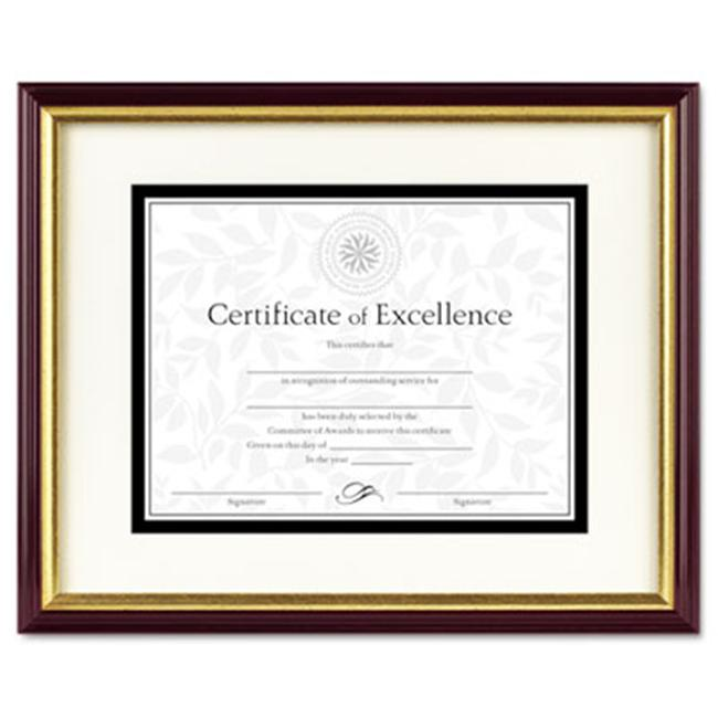 Dax 2703s2rx Document Certificate Frame With Mat Laminated