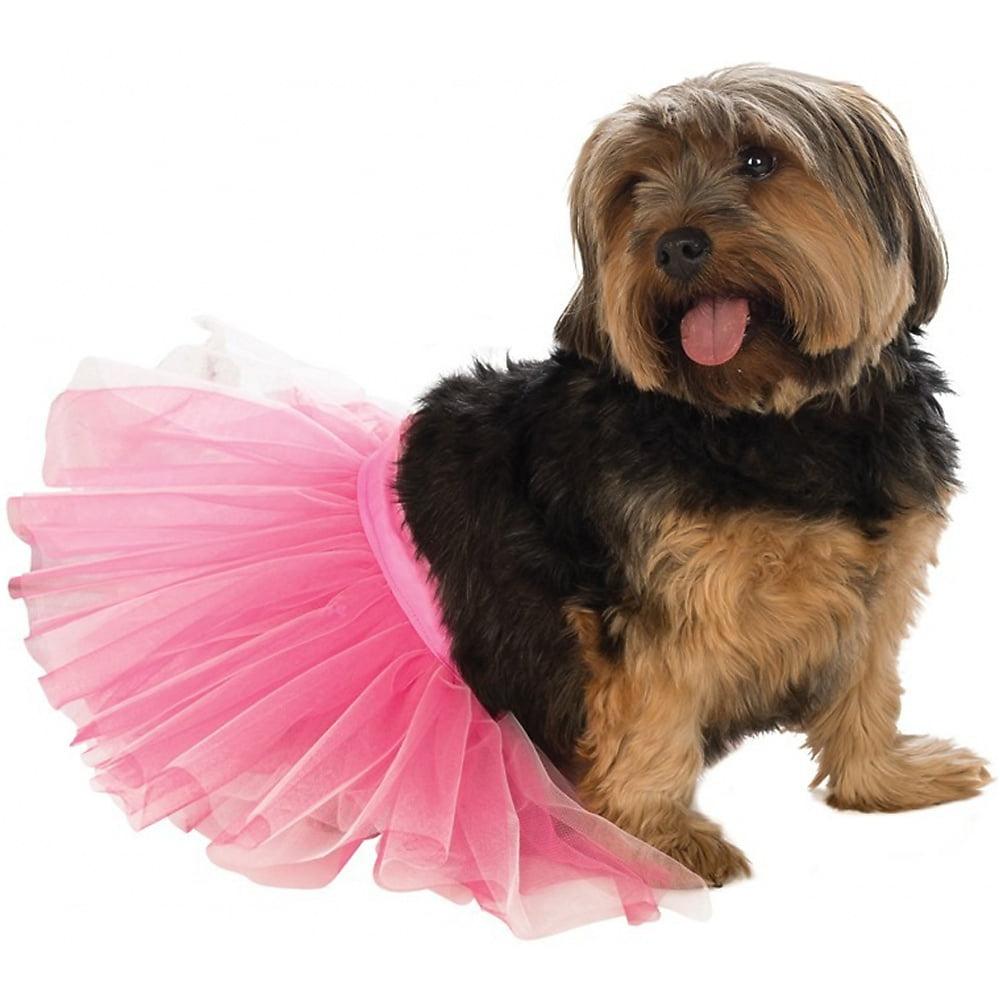 Tutu Pet Pet Costume Pink - Medium/Large