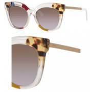 Sunglasses Fendi Ff 179 /S 0TKW Honey Crystal / LW brown violet lens