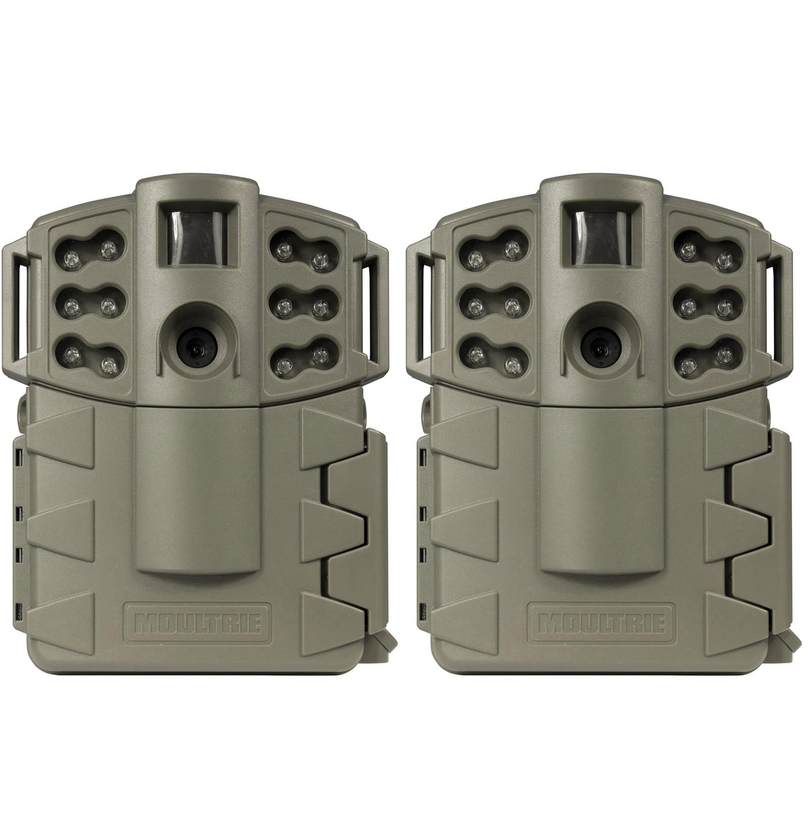 Moultrie Game Spy A-5 Gen2 Low Glow IR Digital Trail Hunting Cameras (2 Pack)