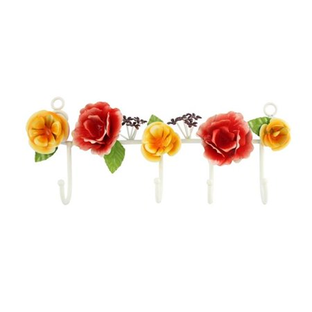 Jacki Design CYG38001CO Bella Rosa Jewelry Key Holder, Coral