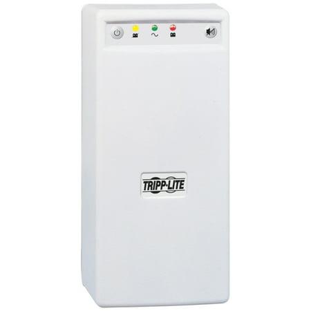 Tripp Lite UPS 600VA 345W Desktop Battery Back Up Tower 120V USB PC / Mac - 600 VA/345 W - 120 V AC - 7 Minute - Tower - 7 Minute - 6 x NEMA