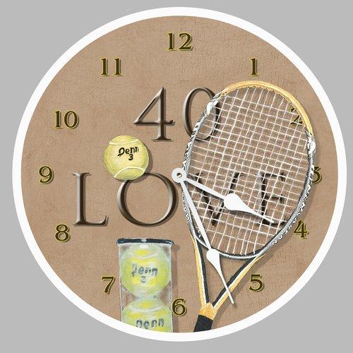 Lexington Studios 18'' 40 Love Wall Clock by
