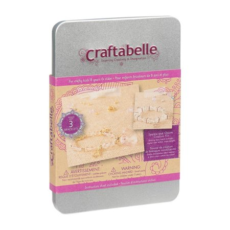 Craftabelle Sparkle and Charm Creation Jewelry Kit (Charm Kit)