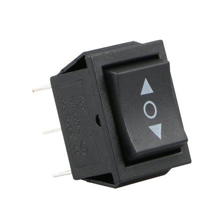 TSV Momentary Double Pole Double Throw 6 PIN ON OFF ON Rocker switch DPDT 20 AMP