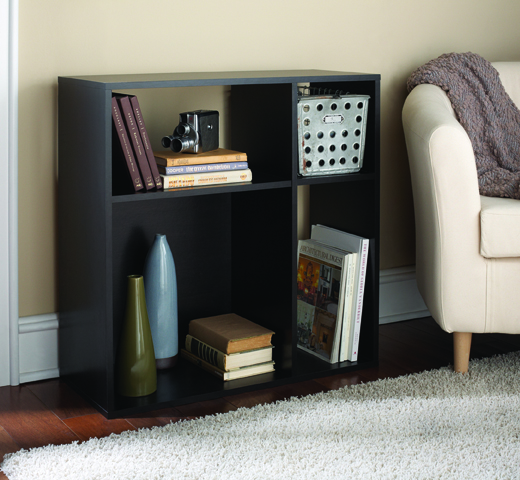 Mainstays Asymmetrical Cube Storage, Multiple Colors
