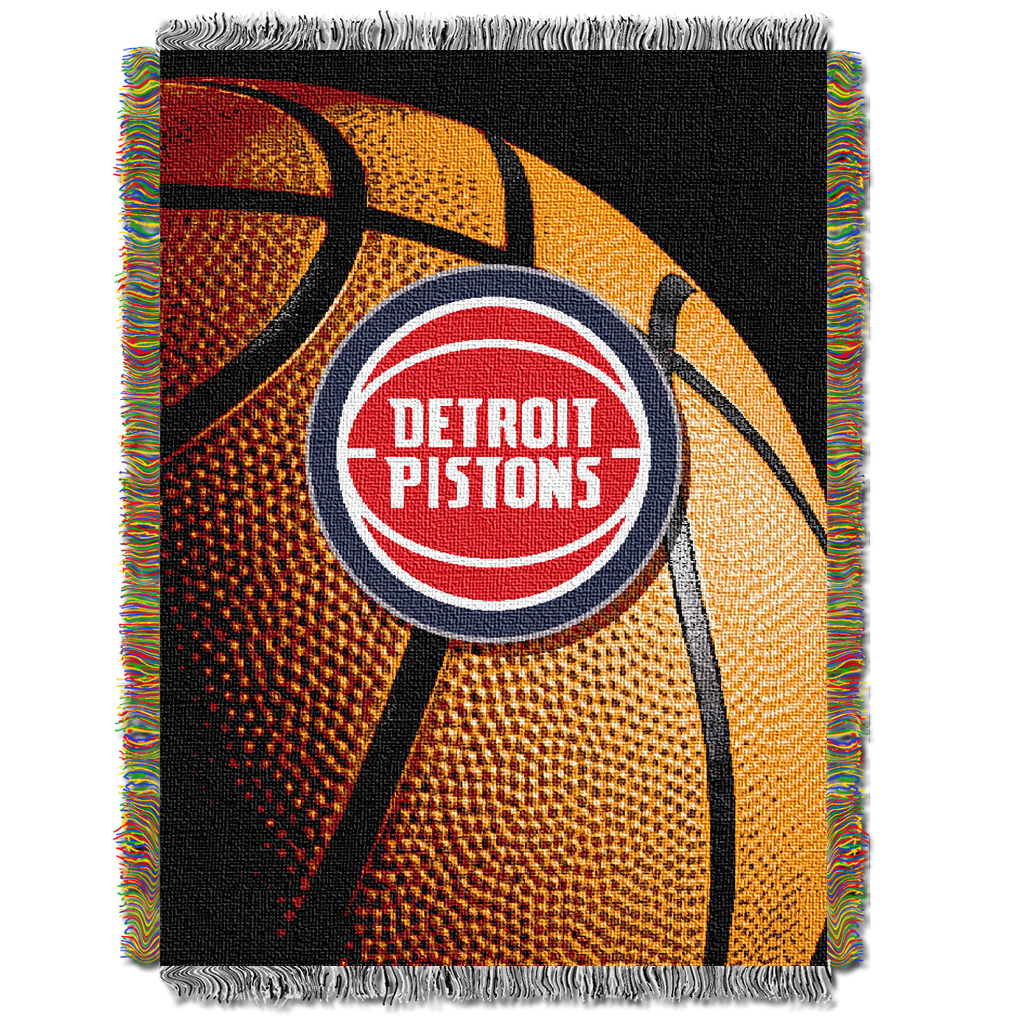 Detroit Pistons The Northwest Company 48'' x 60'' Photo Real Woven Tapestry Throw - No Size
