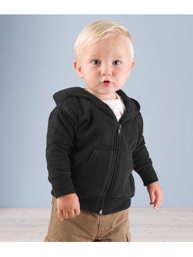 Rabbit Skins Infant Fleece Zip Front Pockets Sweatshirt