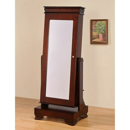 Floor Standing Jewelry Armoire With Base Walmart Com