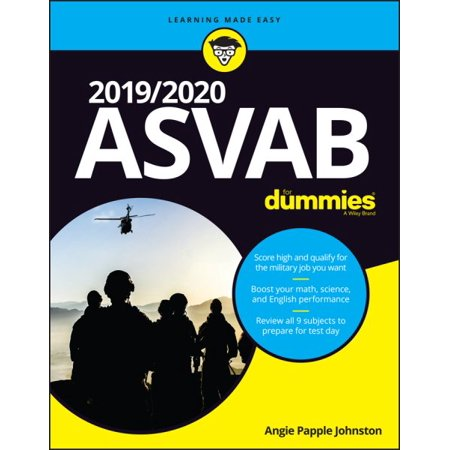 2019/2020 ASVAB for Dummies (Ventriloquist Dummies Halloween)