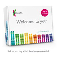 23andMe DNA Test - Health + Ancestry Personal Genetic Service - 75+ Online Reports - includes at-home saliva collection kit