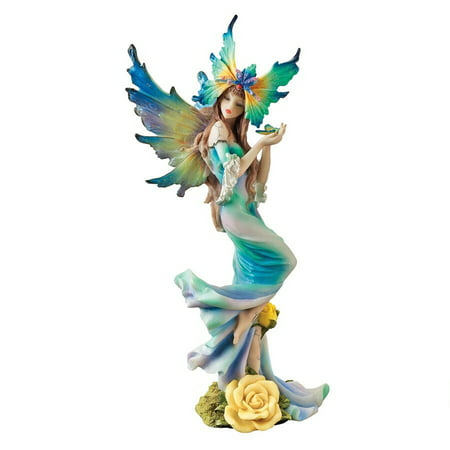 Design Toscano Flower Fairies of Butterfly Hollow: Tea Rose Fairy