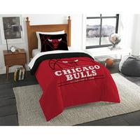 """NBA Chicago Bulls """"Reverse Slam"""" Bedding Comforter Set"""