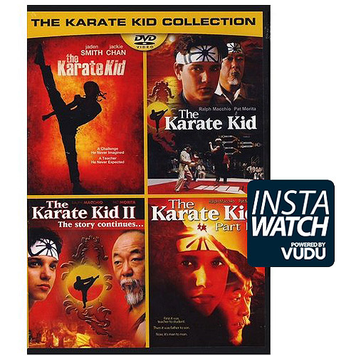 The Karate Kid Collection: The Karate Kid (2010) / The Karate Kid II / The Karate Kid Part III / The Karate Kid (1984) (With INSTAWATCH)