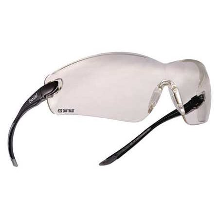 Anti Fog Safety Glasses - BOLLE SAFETY Bolle Contrast Safety Glasses, Anti-Fog, Scratch-Resistant, 40041