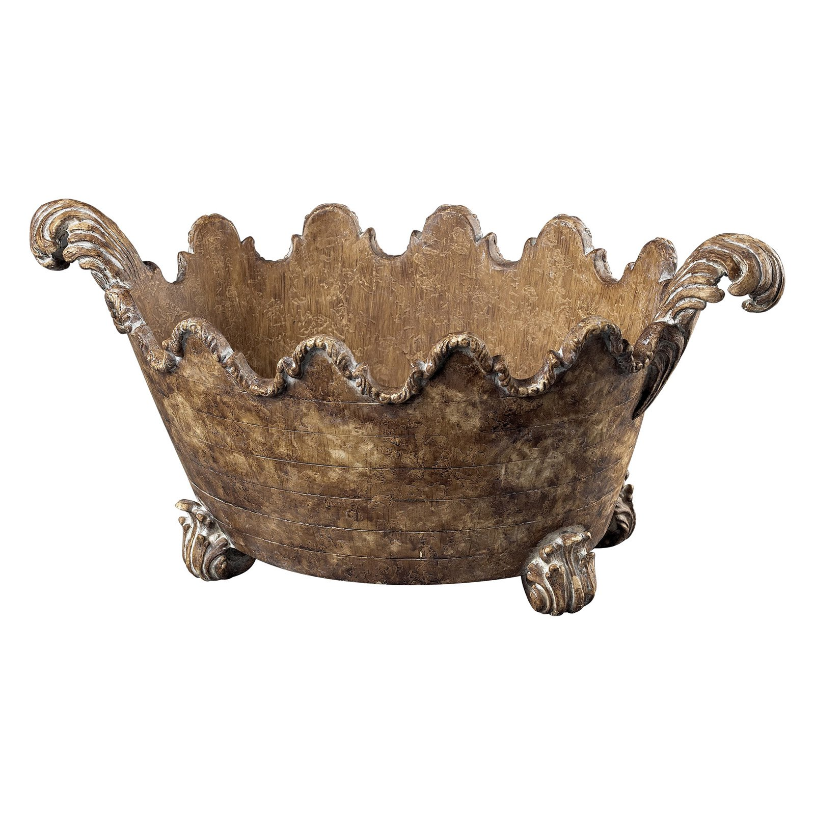 Sterling 9H in. Florentine Bowl