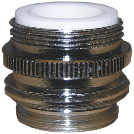 Faucet Aerator Adapters - Lasco Dual Thread Faucet Aerator Adapter