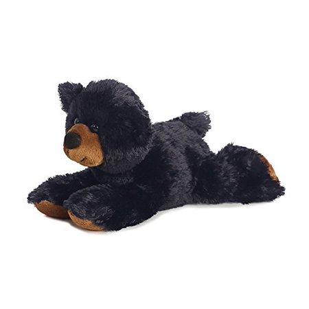 Aurora Plush Sullivan Black Bear Mini Flopsie 8