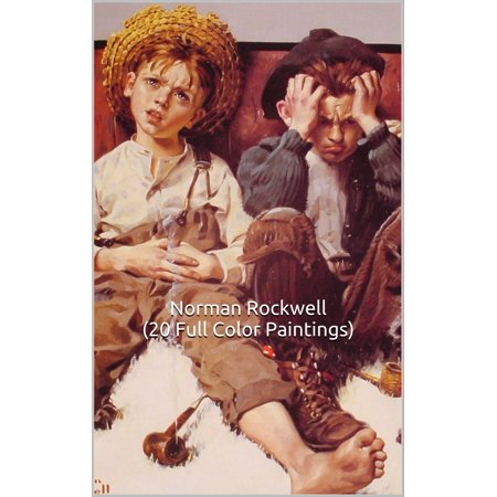 Norman Rockwell (20 Full Color Paintings) 1913-1921 - eBook - Norman Rockwell Halloween