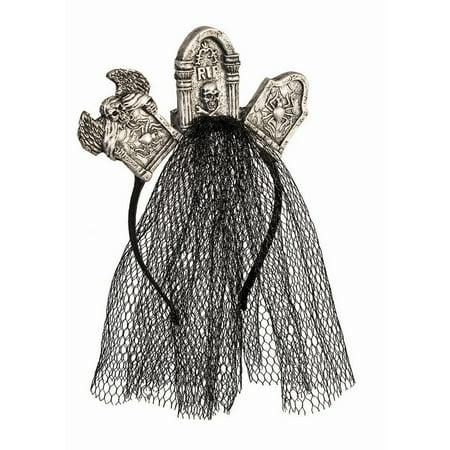 Halloween Tombstone Headpiece](Halloween Tombstone Sayings For Kids)