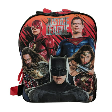 Justice Backpacks For Kids (Justice League 2in1 Flip Strap Toddler Small)