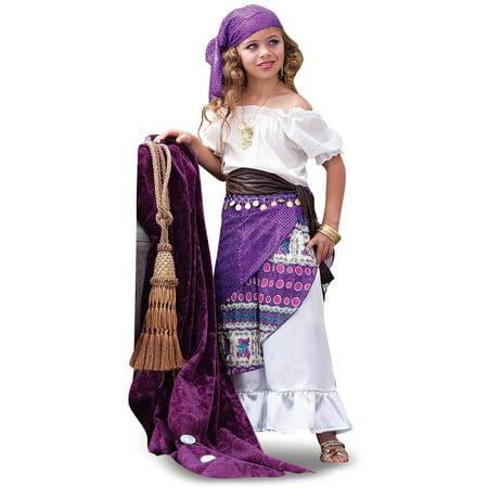 Toddler Gypsy Costume (Gypsy Child Halloween Costume)