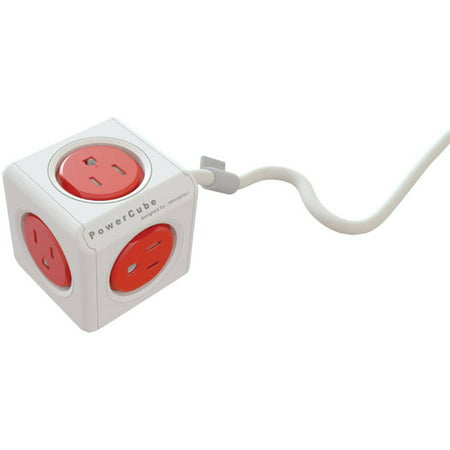 Image of Allocacoc 4304/usexpc PowerCube Extended Power Strip, 10'