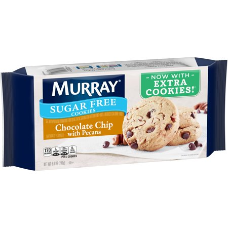 Murray Sugar-Free Chocolate Chip Cookies with Pe cans 8.8 oz