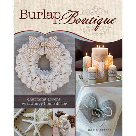 Burlap Boutique Charming Accent Wreaths Home Decor