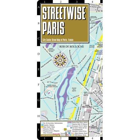 Streetwise paris map - laminated city center street map of paris, france - folded map: (City Creek Center Map)