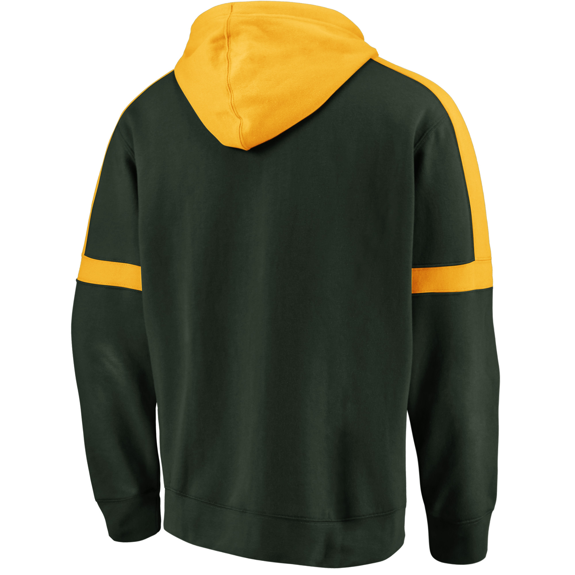 new concept ba9b8 72b1e Green Bay Packers NFL Pro Line by Fanatics Branded Big   Tall Iconic Full- Zip Hoodie - Green Gold - Walmart.com