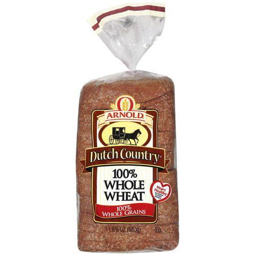 Arnold Dutch Country 100% Whole Wheat Bread, 24 oz