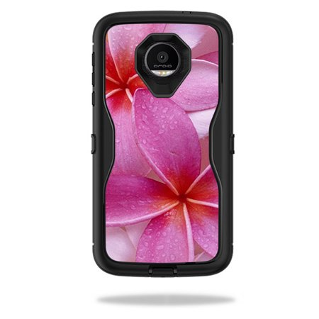 MightySkins Protective Vinyl Skin Decal for OtterBox Defender Moto Z Force Droid Case wrap cover sticker skins Flowers ()