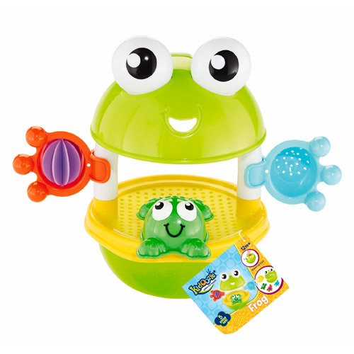 Kidoozie Sift & Stream Frog Play Set