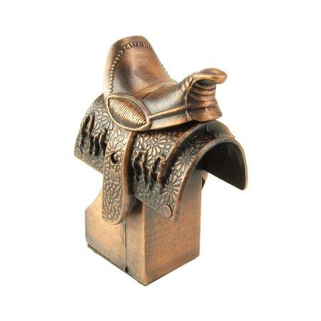 Miniature Western Horse Saddle Ride Die Cast Metal Toy Novelty Pencil Sharpener, Any horse lover would appreciate this die cast miniature western horse saddle toy.., By TreasureGurus LLC ()