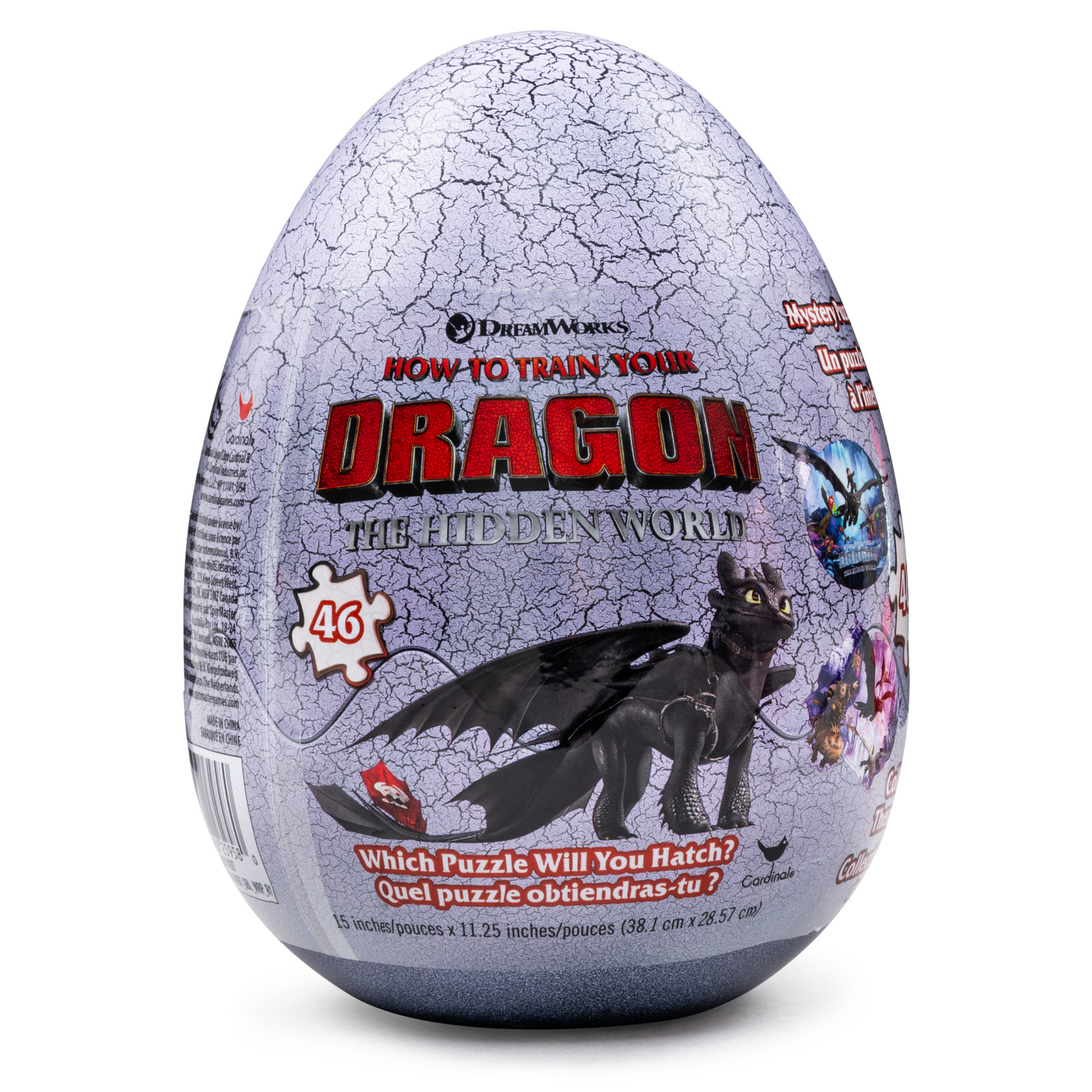 How to Train Your Dragon 46-Piece Surprise Puzzle in Plastic Egg
