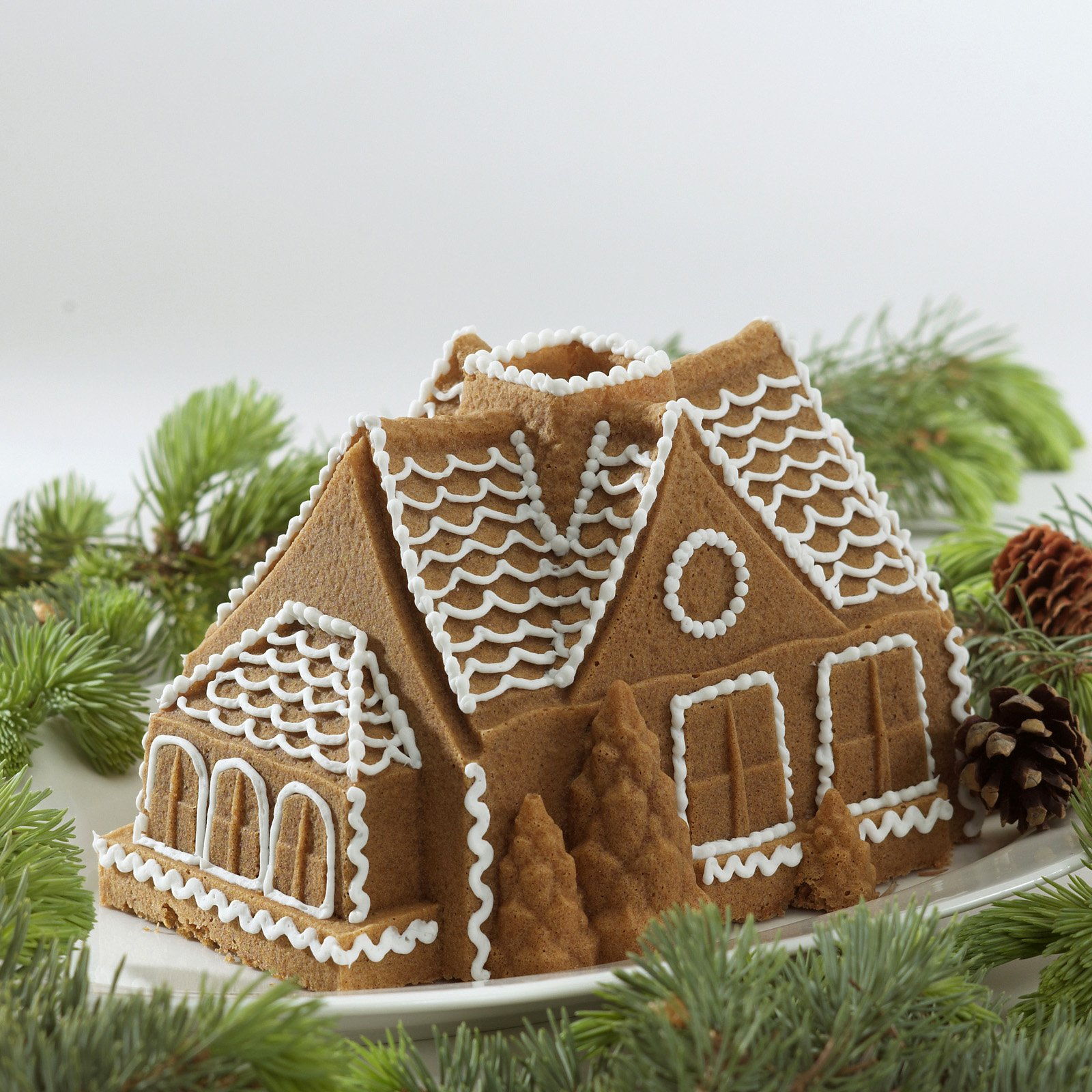 Nordic Ware Gingerbread House Bundt Pan by Nordicware