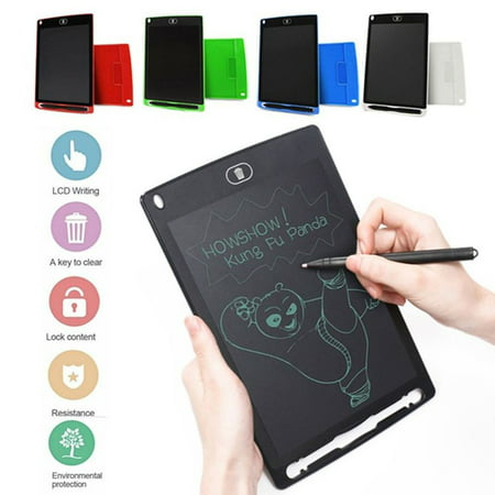 8.5 inch Mini Writing Message Board LCD Drawing Tablet Kids Handwriting Paperless