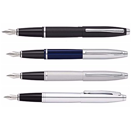 Cross Calais Collection with Medium Stainless Steel Nib Fountain Pen Gift Bundle