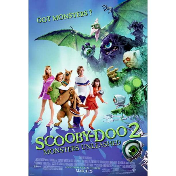 Scooby Doo 2 Monsters Unleashed 2004 27x40 Movie Poster Walmart Com Walmart Com