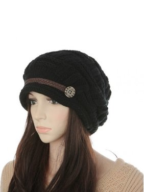 a765c4479e41f Product Image Soft Warm Wool Hat Cap Winter Fleeced Inside Thick Ear Flaps  Women Fashion