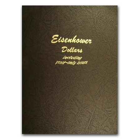 Album #8176 - Eisenhower Dollars w/Proofs (Proofs Dansco Album)