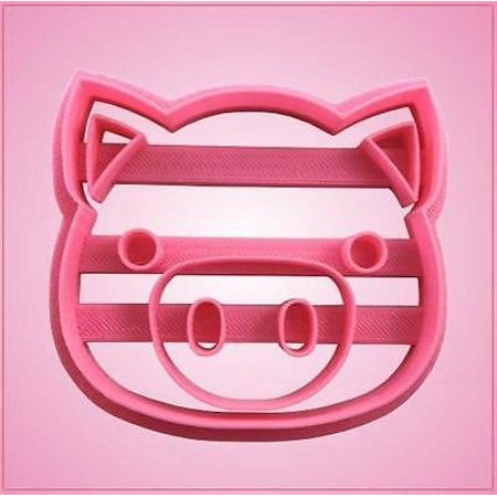 Embossed Pig Face Cookie Cutter ()