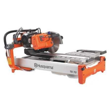 Husqvarna 967318101 Tile Saw,1.5 HP,Wet,127 lb.,115V G200...